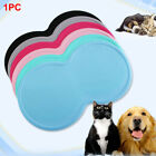 Holder Cat Feeding Wear Resistant Silicone Pet Food Mat For Dog Bowl Drinking