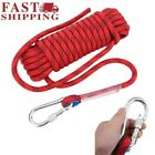Safety Climbing Rappelling Rope Outdoor Mountaineering Cord Rescue Gear USA