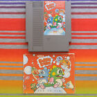 Original Nintendo NES Games with Manuals Authentic / Cleaned / Tested 27 Titles