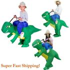 Christmas Halloween Inflatable Ride Dinosaur T-Rex Party Role Play Fancy Costume