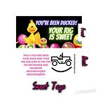 Jeep duck tags SET OF 50 Ducking Jeeps 5 style choices DUCK DUCK JEEP!