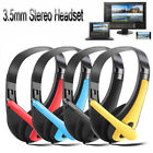 Over Ear Wired Gaming Headset with MIC Microphones Headphone For Mobile Phone~UK