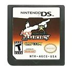 Ace Attorney Series DS Game Cartridge Card For Nintendo 3ds 2ds USA 100% New