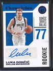 Luka Doncic 2018-19 Panini Chronicles #d 03/25 RC Rookie Auto Autograph