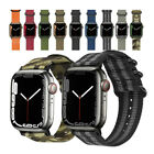 Nylon Sport Watch Band Strap For Apple Watch SE iWatch 6 5 4 3 40/44mm 38/42mm