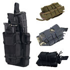 Military Molle Ammo Pouch Tactical Rifle Magazine Pouch Dump Drop Bag Hunting CP