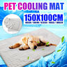 Pet Cooling Mat Ice Silk Self Cooling Pad for Cat Dog Cool Indoor Stay