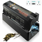 Electronic Humane Rodent Zapper Clean Mouse Trap Killer For Rats Mice MV