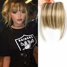LEEONS Fringe Bangs Synthetic Hair Extensions Clip in Bangs 6