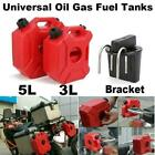 Bracket Lock / 3L / 5L Red Fuel Tank Gas Can Gasoline Oil Storage Container