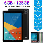 "Android 8.0 Ten Core 10.1""HD Game Tablet Computer PC GPS Wifi 64GB Dual Camera"