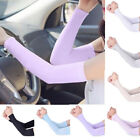 1 Pair Cooling Arm Sleeves Cover UV Sun Protection Fingerless Outdoor Men Women