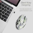2.4GHz Wireless Silent LED Backlit Gaming X8 Mouse Rechargeable Optical 2400DPI
