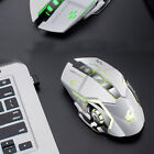 Wireless Laptop Mouse LED Backlit Rechargeable Optical Gaming Mouse 2.4GHz Mice