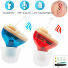 MiNi Digital Invisible Hearing Aid CIC Small Sound Voice Amplifier Enhancer