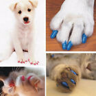20PCS Pure Color Silicone Pet Dog Cat Kitten Paw Claw Control Sheath Nail Covers