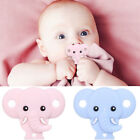 Food Grade Silicone Baby Pacifier Elephant Nozzle Teether Chewable Nursing