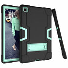 For Samsung Tab A7 10.4 SM-T500/T505 Tablet Case Rubber Hybrid Front Frame Stand