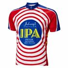 Moab Brewery Johnnys IPA beer Men's Full Zip Short Sleeve Cycling Jersey