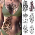Temporary Tattoo Girl Chest Arm Thigh Sleeve Waterproof Sticker Fake Art Woman