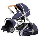 Baby Stroller 3 in 1 Portable Travel High Landscape Folding Baby Carriage Car
