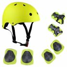 Kids 7 In 1 Protective Equipment Helmet Pads Set Multi Sports Gear Set Scooter