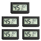 ABS Wireless LCD Digital Thermometer Hygrometer Mini Temperature Humidity 5