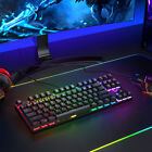 LED Backlit rgb USB Desktop Wired Gaming Keyboard and Mouse Headset ForPC Laptop