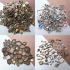 50g Tibetan Silver Mixed Charms Pendants For DIY Jewelry Making Craft Findings