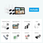 ANRAN Outdoor Wireless Security WiFi Camera System CCTV 1080P 8CH NVR With 1TB