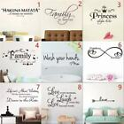 ❤ Wall Stickers Removable Art Vinyl Quote Decal Mural Home Room Diy Decor Window