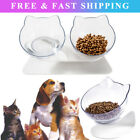 Non-slip Pet Bowls with Raised Stand Dog Kitten Cat Food Water Feeding Station