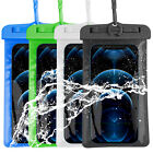 Waterproof Underwater Clear Touchscreen Pouch Dry Bag Phone Case Cover Rafting