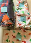 AMAZON BASICS KIDS BED IN A BAG DINOSAURS CHOOSE TWIN OR FULL/QUEEN