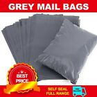 50x Strong Grey Mailing Post Mail Postal Bag Poly Postage Self Seal Plain 12x16