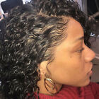 USA lace wigs Lace Frontal Wigs Curly Malaysian Human Hair lace Wigs Pre-Plucked