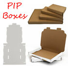 WHITE OR BROWN A4 A5 A6 DVD DL POSTAL BOXES LARGE LETTER CARDBOARD SHIPPING PIP
