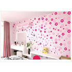 108 Flower&6butterfly Wall Decor Sticker Removable Diy Creative Sweet Home Dsh4