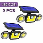 GOTOBE 180 COB Solar LED Light Outdoor Lighting IP65 Waterproof  Solar Lamp With