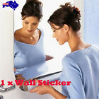 Removable Mirror Wall Sticker Self Adhesive Mirror Sheets For Art Home Diy Decor