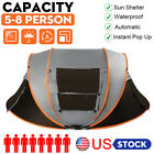 5-8 Person Outdoor Camping Waterproof 4 Season Family Tent Camouflage Hiking