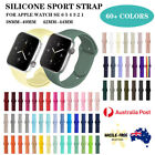 For Apple Watch Iwatch Sports Band Strap Series 7 6 5 4 3 2 1 Se 38/40/42/44mm