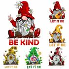 Home Decoration Car Window Decals Dwarf Stickers Gnome Posters Let It Be