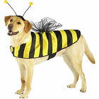 Casual Canine Bumble Bee Costume Satin Mesh-Wings Hook Loop Belly Band Antennae