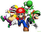 SUPER MARIO BROS Wii PARTY - ALL UNDER THIS LISTING