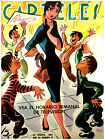 """451.Quality Design poster""""Pinup's Hairstyle gets attention"""" Nice retro interior"""
