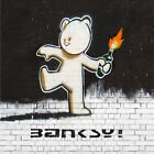 Banksy-Mild Mild West Teddy Canvas Art Print