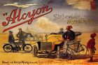 MOROCCO DESERT ALCYON CAR MOTORCYCLE BIKE TRAVELS THE WORLD VINTAGE POSTER REPRO