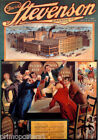 DAVID STEVENSON BREWING A TOAST FOR THE BEER NEW YORK 1900 VINTAGE POSTER REPRO