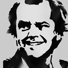 Jack Nicholson Retro Iconic Cult reusable art stencil